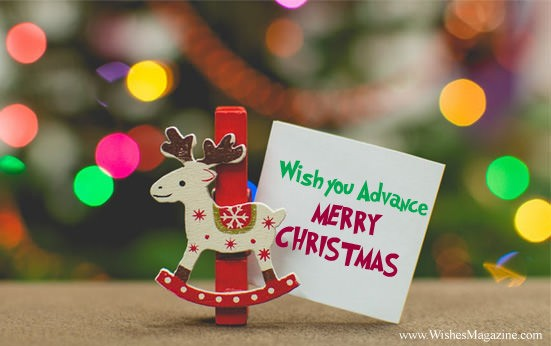 Advance Christmas Wishes | Advance Merry Christmas Messages