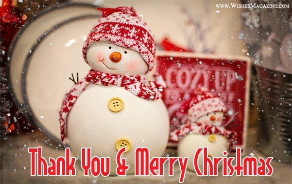 Thank you christmas gift messages