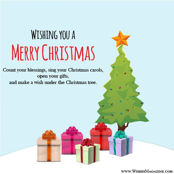 Merry Christmas greeting Cards Christmas Message Card Ideas