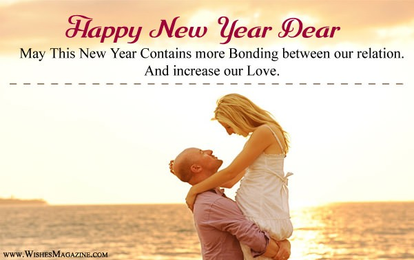 happy new year wishes for husband wife