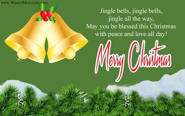 Merry Christmas greeting Cards Jingle Bells Christmas Card Ideas