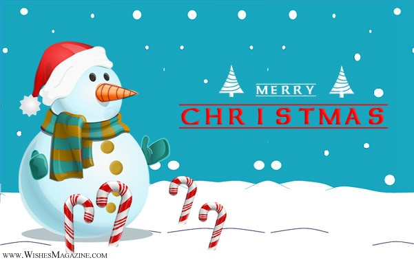 Merry Christmas greeting Cards Snowman Christmas Card Ideas