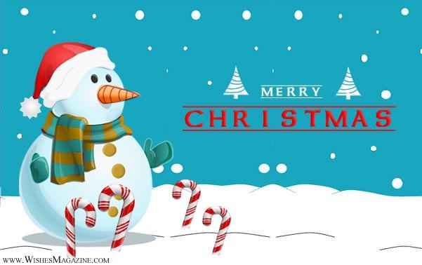 Merry Christmas greeting Cards Snowman Christmas Card Ideas