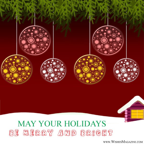 Merry Christmas greeting Cards Bright Christmas Card Ideas