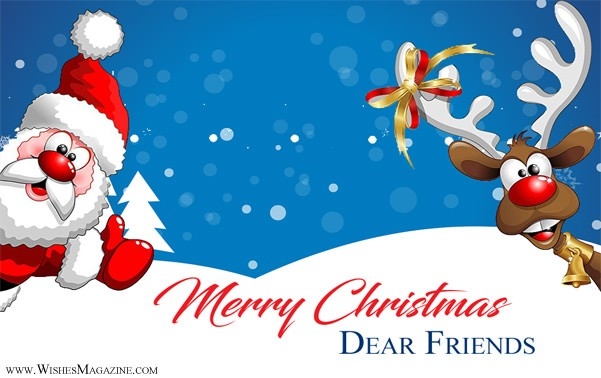 Christmas Wishes For Friends | Merry Christmas Cards Messages For Friends