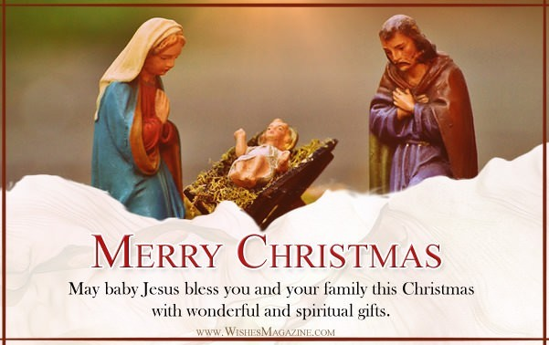Merry Christmas greeting Cards Spiritual Christmas Card Ideas