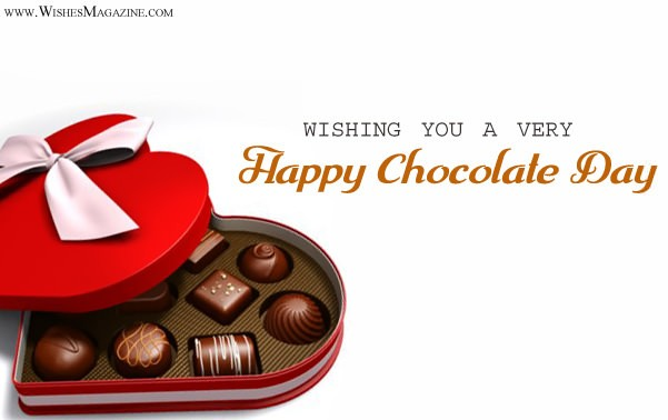 Happy Chocolate Day Wishes Messages For Husband Wife