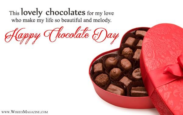 Happy Chocolate Day Wishes For Girlfriend Boyfriend