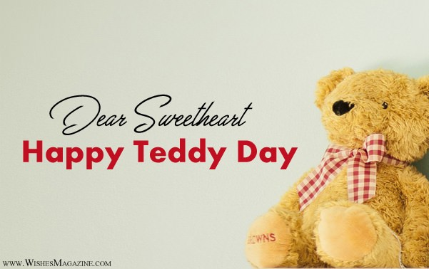 Happy Teddy Day Wishes For Husband Wife