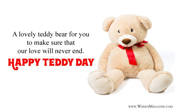 Happy Teddy Day Wishes Messages For Girlfriend Boyfriend