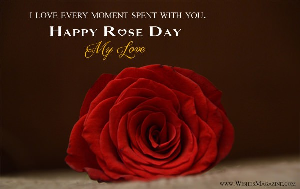 Happy Rose Day Card 2018