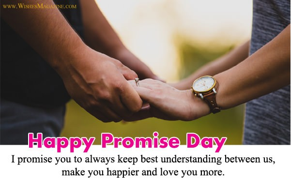 Happy Promise Day Wishes Messages For Husband Wife