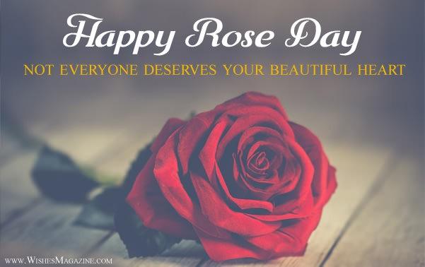 Beautiful Rose Day Card Image