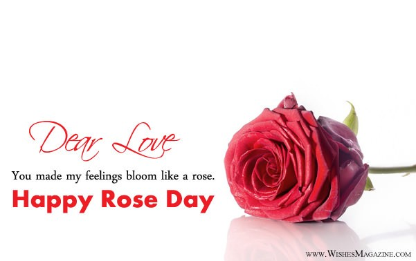 Best Happy Rose Day Card For Love
