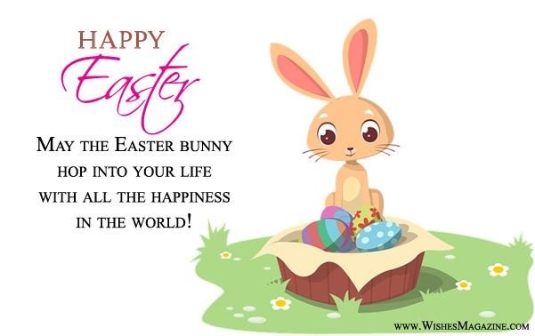 Cute Sweet Easter Bunny Card