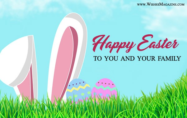 Happy Easter Greeting Card 2018