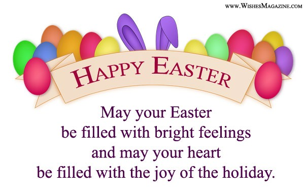 New Easter Card With Message