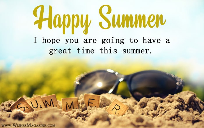 Happy Summer Wishes