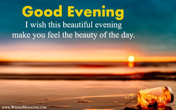Latest Good Evening Wishes Messages