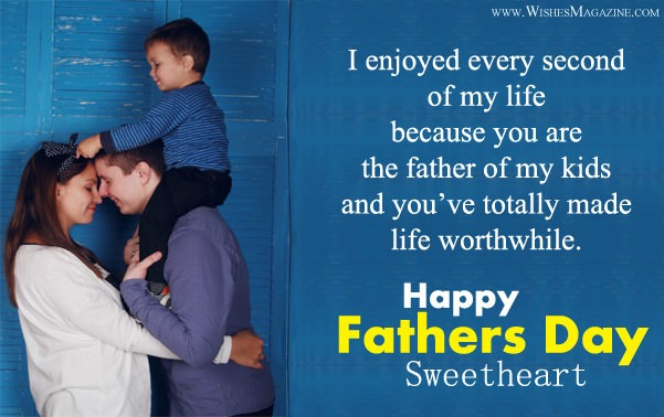 New Happy Fathers Day Wishes Messages For Husband