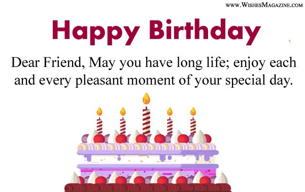 Happy Birthday Wishes For Facebook Friends, Birthday Card For Facebook Friends.