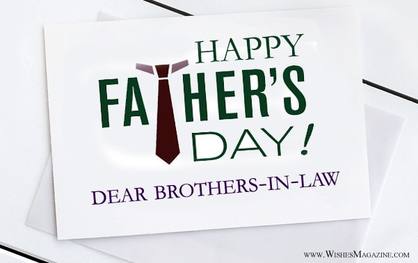 Happy Fathers Day Wishes Messages For Brother-In-Law