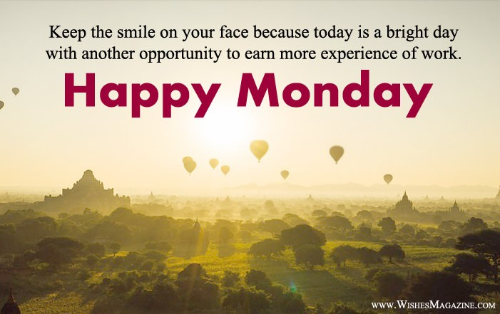 Happy Monday Wishes | Monday Morning Messages