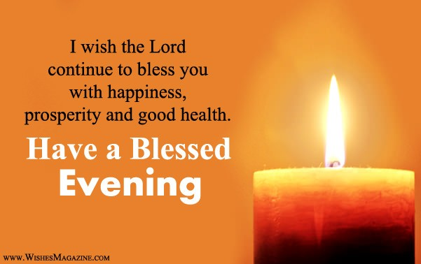 Religious Good Evening Wishes