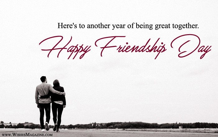 Friendship Day Greeting Card With Message