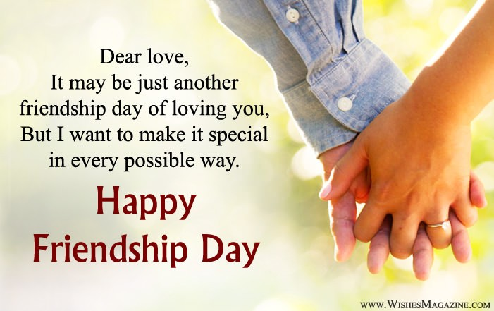 Friendship Day Wishes For Gf Bf