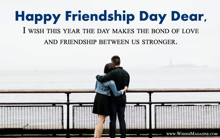 Happy Friendship Day Wishes Messages For Girlfriend Boyfriend