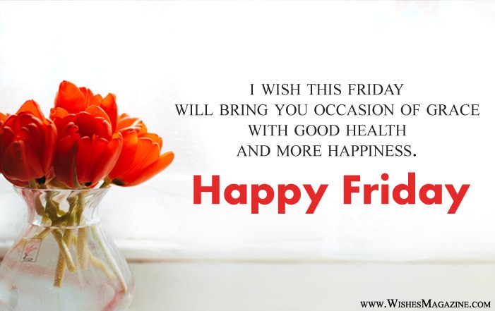 Happy Friday Wishes | Best Friday Morning Messages