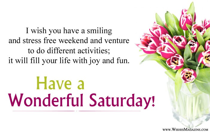 Happy Saturday Wishes
