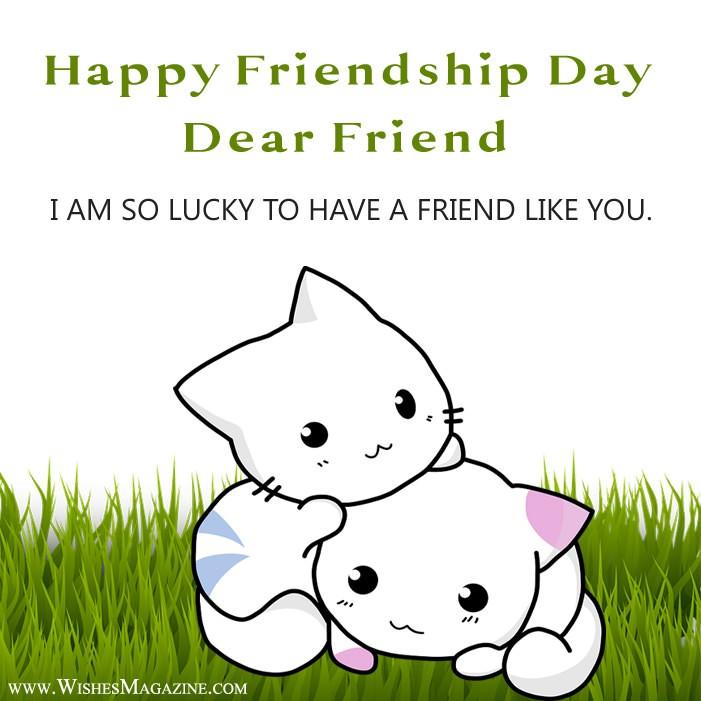 Latest Cute Friendship Day Card