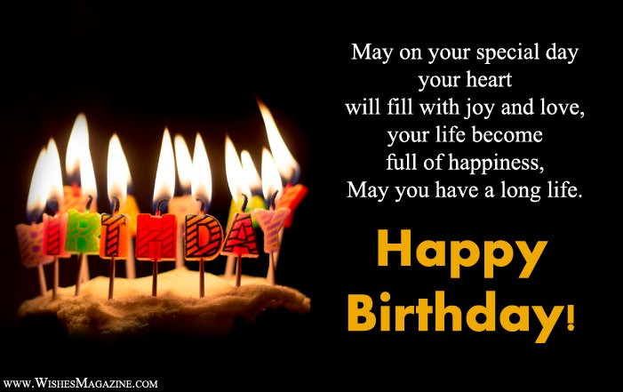 Live Long Life Birthday Wishes