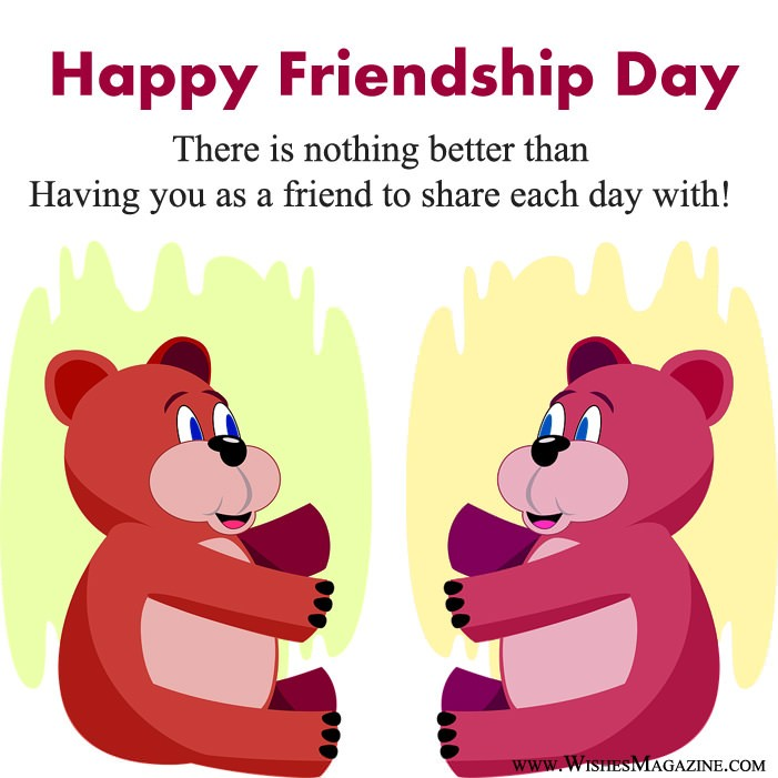 Sweet Happy Friendship Day Card