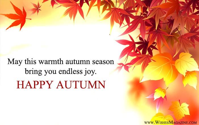 Happy Autumn Wishes | Happy Autumn season Messages