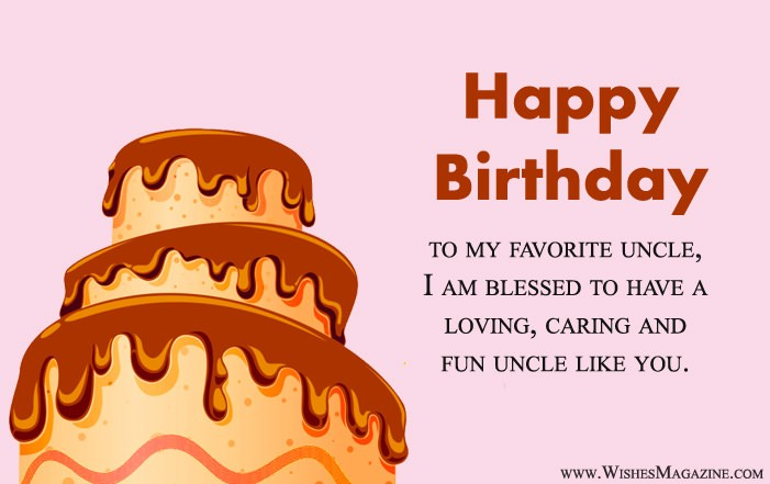 Happy Birthday Wishes For Uncle | Birthday Message For Uncle