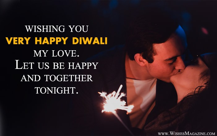 Romantic Diwali Wishes Messages For Girlfriend Boyfriend