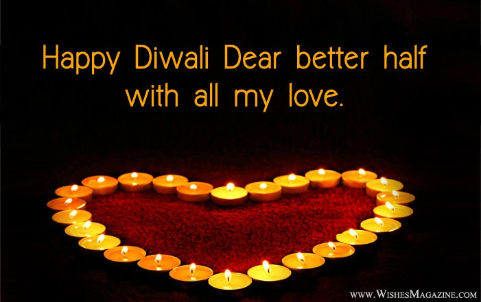Happy Diwali Wishes Quotes For Husband Wife | Diwali Love Messages
