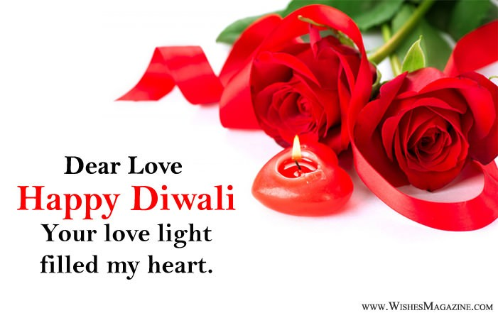 Romantic Diwali Wishes For Lover