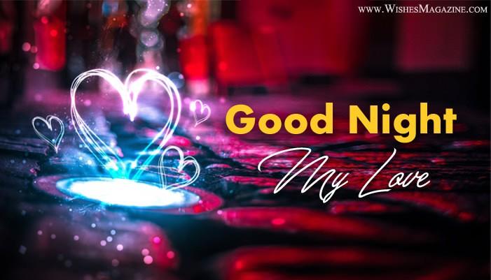 Romantic Good Night Image, Good Night Wishes For Girlfriend Boyfriend