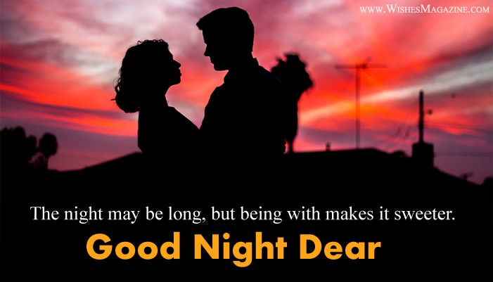 Romantic Good Night Wishes For Husband Wife.