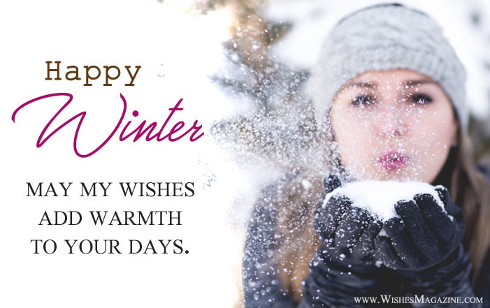 Happy Winter Wishes Messages