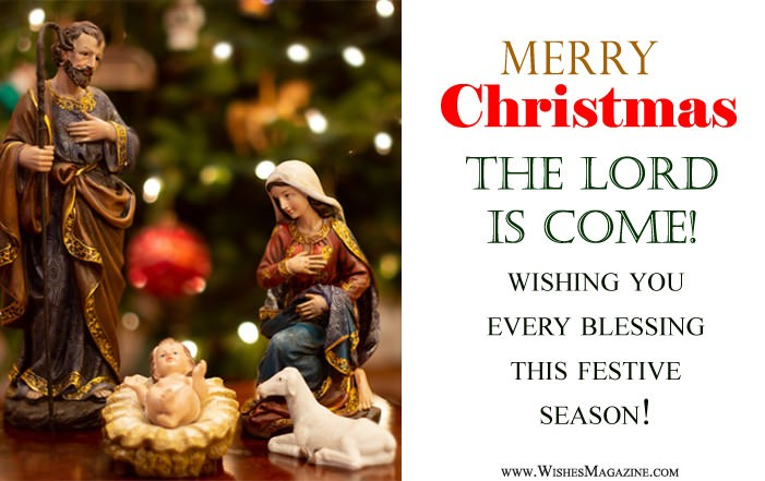 Religious Christmas Wishes | Spiritual Christmas Messages Saying