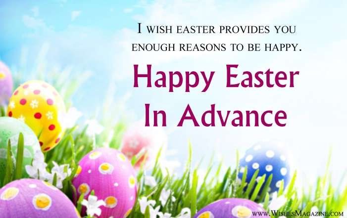 Advance Easter Wishes | Happy Easte Sms Messages