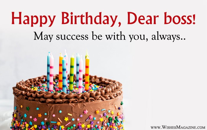 Super Happy Birthday Wishes Messages For Boss Personalised Birthday Cards Cominlily Jamesorg