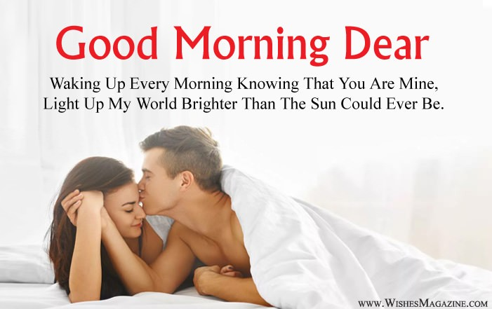 Good Morning Wishes For Husband Wife