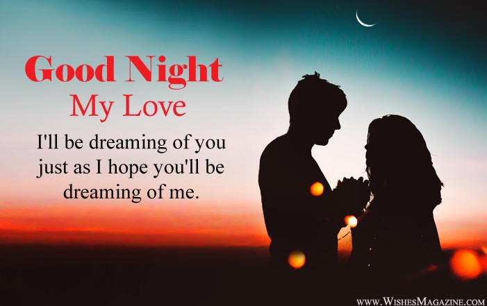 Good Night Love Messages For Gf BF
