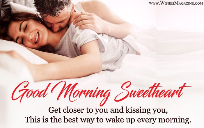 Romantic Good Morning Wishes For Husband Wife